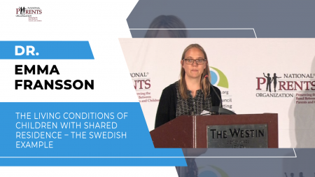 Dr. Emma Fransson - The living conditions of children with shared residence – the Swedish example