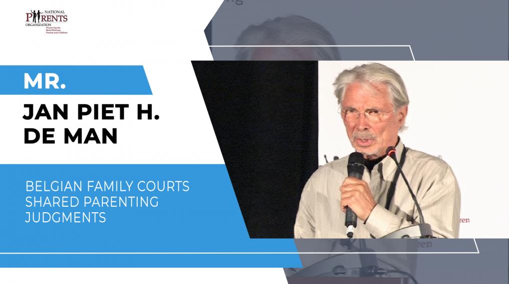 Mr. Jan Piet H. de Man - Belgian Family Courts shared parenting judgments