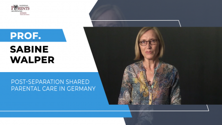 Prof. Sabine Walper - Post-separation shared parental care in Germany