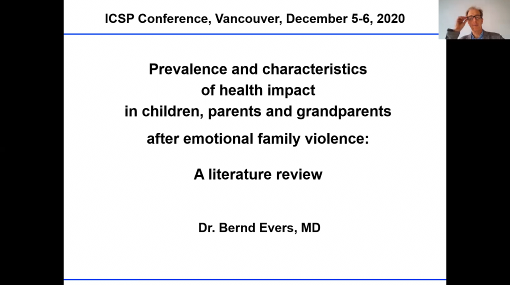 Prevalence and Characteristics in Children, Parents and Grandparents After Emotional Family Violence: A Meta-Analytical Approach
